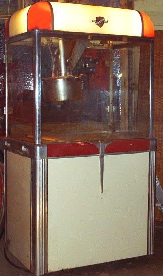 manley popcorn machine parts